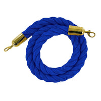 Heavy-Duty Twisted Polypropylene Ropes for Stanchion Posts
