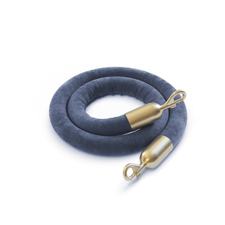 Trafford Industrial Heavy Duty Velour (Velvet) Hanging Ropes for Stanchions Standard Colors
