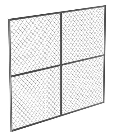 Chain Link Fence Panel Barrier Panel Unit
