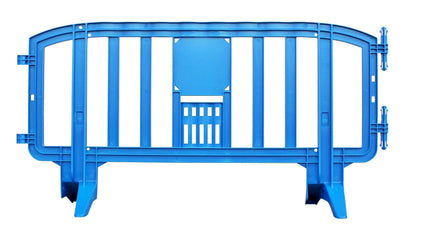 Blue Movit 6.5 Ft. Interlocking Plastic Barricade