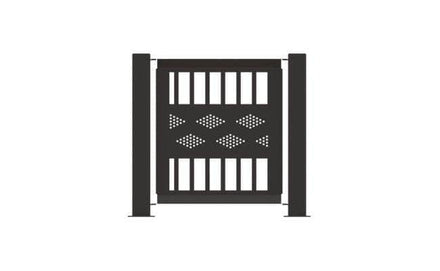 Decorative Event Fence Panel - Band Pattern