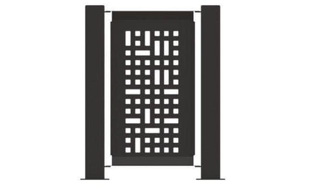 Decorative Event Fence Panel - SG Pattern
