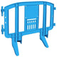 Blue Minit 4 Ft. Interlocking Plastic Barricade