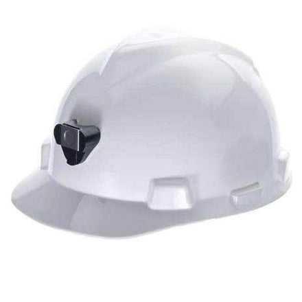 MSA Specialty V-Gard Staz-On White Cap Hard Hat Protective Helmet (Pack of 20)