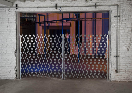 Heavy Duty Pair Folding Security Gates