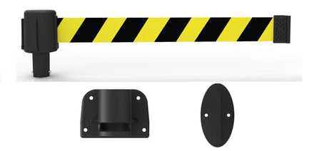 Banner Stakes PLUS Line 15' Belt Fixed Wall Mount System
