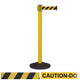 CCW Series RBB-100 Safety Retractable Belt Barrier - 12 Ft. Belt