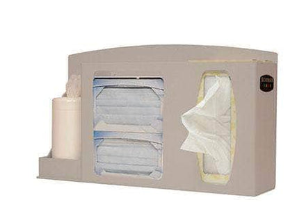 Respiratory Hygiene Station Non-locking With Canister Provision