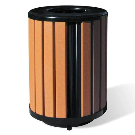 Richmond Recycled Trash Receptacle - 32 Gallon Capacity