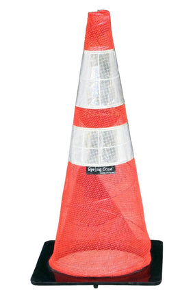 Spring Collapsing Traffic Cone