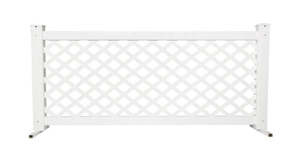 Event Fence Low-Height Panel - Lattice Style