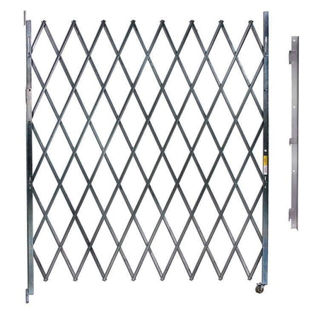 Heavy-Duty Single Security Gate
