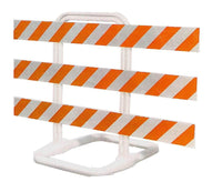 Sentinel Type III Plastic Traffic Barricade
