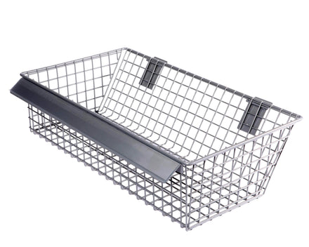 Slant Basket for Merchandising Panels - 22 In. x 12 In.