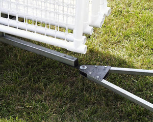 Hitch for Transport and Storage Cart for SportPanel PVC Outfield Fence