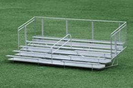 Transportable Durable and Light Weight  Welded Bleachers
