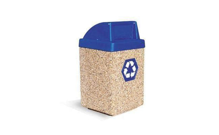 Concrete Recycling Waste Container - 53 Gallon Capacity