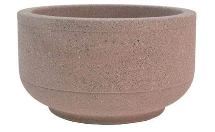 Form Basic Low Profile Round Concrete Planter