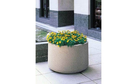 Large round planter for sale perfect for flowers and landscaping