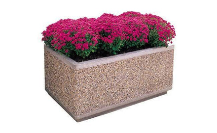 Form Series Large Rectangular Concrete Planter