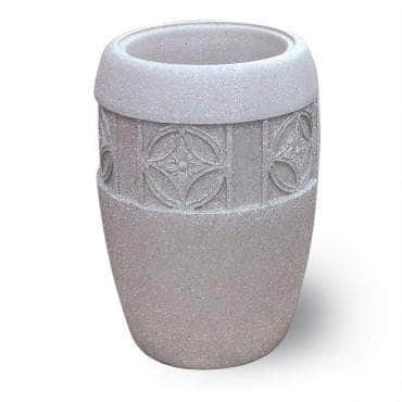 Westlake Series Medium Concrete Round Planter with Westlake I Band