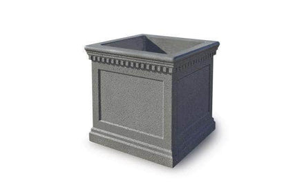 Colonial Series Medium Square Concrete Planter