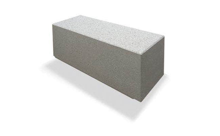 "Basic Modern 48"" Rectangular Concrete Park Bench"