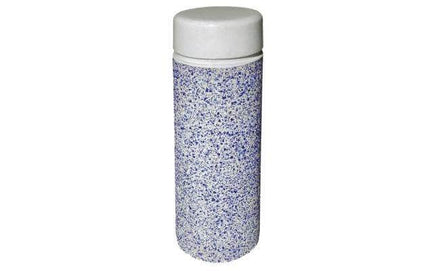Multi Texture Cylindrical Bollard with Reveal Line