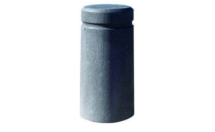 Slight Taper Cylindrical Bollard with Reveal Line for sale, optimal for security and high vehicle traffic areas