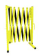 Fluorescent Yellow and Black Versa-Guard Heavy Duty 11 Ft. Standard Length Expanding Barricade