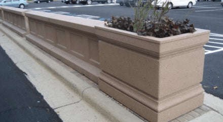 Wall Bollards with Planter