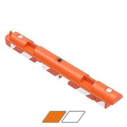 """Water/Sand Fillable Airport Barricade - 10"""" H x 96"""" L x 10"""" W"""