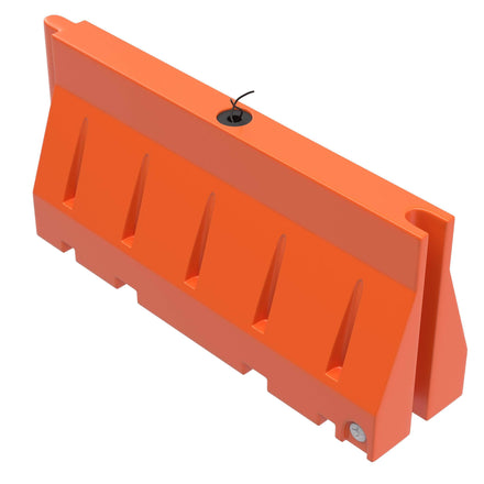 "Water/Sand Filled Roadway Jersey Barrier - 32"" H x 72"" L x 18"" W - 85 lbs"