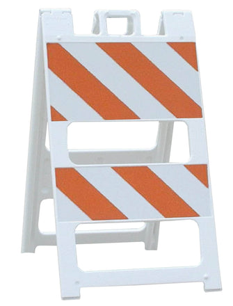 Plasticade Type I and Type II Traffic Barricades