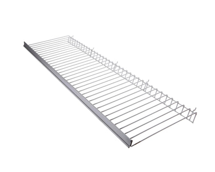 Wire Slant Shelf for Merchandising Panels - 49.5 In. x 12 In.