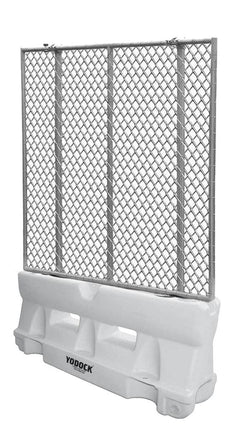 White Yodock 2001MB with optional chain link fence