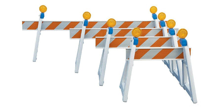 A Frame Traffic Barricades