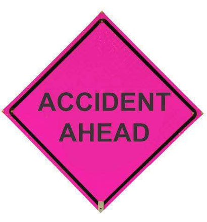 48 in. x 48 in. Roll Up Traffic Signs