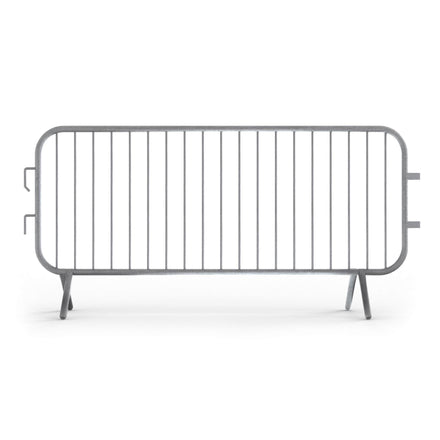 7.5 Ft. Heavy Duty Fixed Foot Steel Barricade