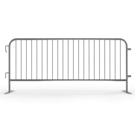 Angry Bull Barricades 8.5 Ft. Economy Steel Barricade, Light Weight & Pre-Galvanized