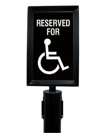 Visiontron Heavy Duty Sign Frames
