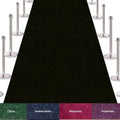 VIP Red Carpet Stanchion Kit - 4 Ft Wide / 30 Ft Long Carpet