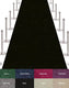 VIP Red Carpet Stanchion Kit - 4 Ft Wide / 20 Ft Long Carpet