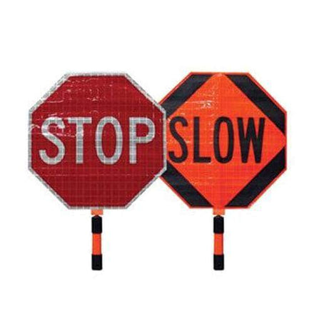 Dicke Roll-Up Stop/Slow Paddle