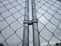 Jersey Barrier Chain Link Fencing Connection