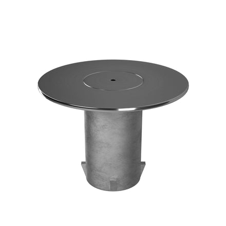 Floor socket and cap for removable posts