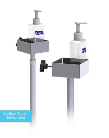 Hand Sanitizer Dispenser Stand mounting plate
