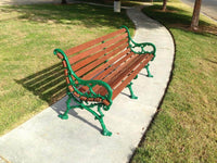 Vines Wood Park Bench - 60 In.