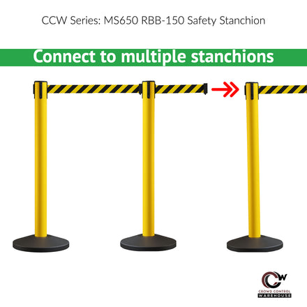 connect to multiple stanchions