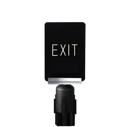 Visiontron PRIME Sign Bracket with Adapter Cone for 7 in. x 11 in. ColorCore Signs